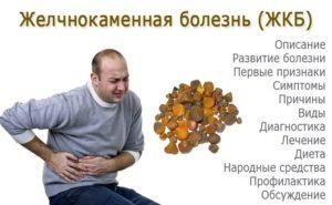 Желчнокаменная болезнь лечение без операции